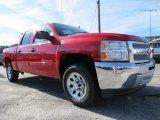 2013 Victory Red Chevrolet Silverado 1500 LS Crew Cab #74973383