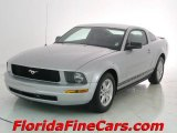 2007 Satin Silver Metallic Ford Mustang V6 Deluxe Coupe #7477998