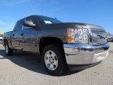2013 Mocha Steel Metallic Chevrolet Silverado 1500 XFE Crew Cab #74973380