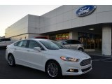 2013 Oxford White Ford Fusion SE 2.0 EcoBoost #74973276