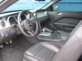 2008 Ford Mustang Bullitt Coupe Dark Charcoal Interior