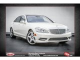 2013 Diamond White Metallic Mercedes-Benz S 550 Sedan #74973157