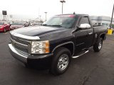 2008 Black Chevrolet Silverado 1500 Work Truck Regular Cab #74973477