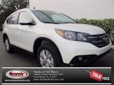2013 White Diamond Pearl Honda CR-V EX-L #74973141