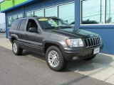 2002 Jeep Grand Cherokee Limited 4x4 Front 3/4 View