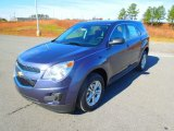 2013 Atlantis Blue Metallic Chevrolet Equinox LS #74973573