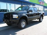 2004 Black Ford F250 Super Duty XLT SuperCab 4x4 #74973791
