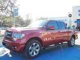 2013 Ruby Red Metallic Ford F150 FX2 SuperCrew #74973218