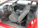 2002 Ford Mustang V6 Coupe Dark Charcoal Interior