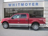2013 Ruby Red Metallic Ford F150 XLT SuperCrew 4x4 #74973526