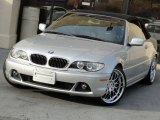 2006 Titanium Silver Metallic BMW 3 Series 325i Convertible #74973300
