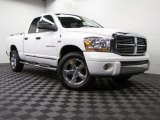 2006 Bright White Dodge Ram 1500 Laramie Quad Cab 4x4 #74973510