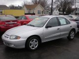 2003 Ultra Silver Metallic Chevrolet Cavalier LS Sedan #75021780