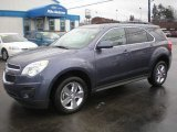 2013 Atlantis Blue Metallic Chevrolet Equinox LT #75021779