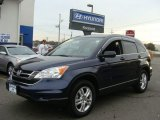 2010 Royal Blue Pearl Honda CR-V EX AWD #75021773