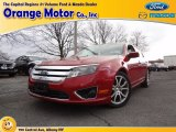 2010 Red Candy Metallic Ford Fusion SE #75021302