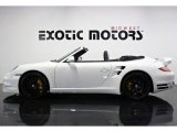 2012 Carrara White Porsche 911 Turbo S Cabriolet #75021765