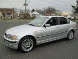 2003 Titanium Silver Metallic BMW 3 Series 330xi Sedan #75021644