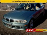2002 Grey Green Metallic BMW 3 Series 325i Coupe #75021405