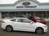 2013 Oxford White Ford Fusion Titanium #75021284