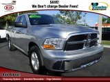 2012 Bright Silver Metallic Dodge Ram 1500 SLT Quad Cab #75021613