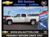 2013 White Diamond Tricoat Chevrolet Silverado 1500 LT Crew Cab 4x4 #75021706