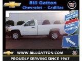 2012 Summit White Chevrolet Silverado 1500 Work Truck Regular Cab #75021679