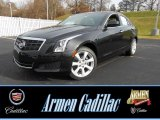 2013 Black Diamond Tricoat Cadillac ATS 2.0L Turbo AWD #75021008