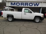 2013 Summit White Chevrolet Silverado 1500 Work Truck Regular Cab #75021222