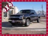 2005 Black Chevrolet Silverado 1500 Z71 Extended Cab 4x4 #75021336