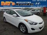 2013 Shimmering White Hyundai Elantra GLS #75021585