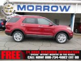 2013 Ruby Red Metallic Ford Explorer Limited 4WD #75021212