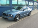 2005 Windveil Blue Metallic Ford Mustang GT Premium Coupe #75074454