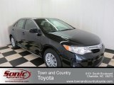 2012 Attitude Black Metallic Toyota Camry LE #75074218