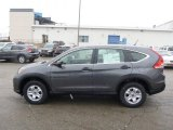 2013 Polished Metal Metallic Honda CR-V LX AWD #75074327