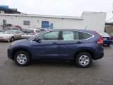 2013 Twilight Blue Metallic Honda CR-V LX AWD #75074326
