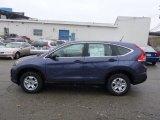 2013 Twilight Blue Metallic Honda CR-V LX AWD #75074326