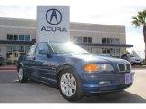 2001 Steel Blue Metallic BMW 3 Series 325i Sedan #75073744
