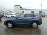 2013 Twilight Blue Metallic Honda CR-V EX AWD #75074322