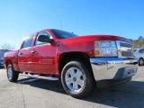 2013 Victory Red Chevrolet Silverado 1500 LT Crew Cab #75074093