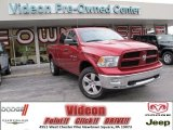 2012 Deep Cherry Red Crystal Pearl Dodge Ram 1500 Outdoorsman Crew Cab 4x4 #75074438