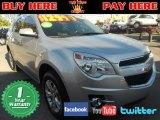 2010 Silver Ice Metallic Chevrolet Equinox LS #75074320