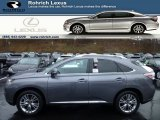 2013 Nebula Gray Pearl Lexus RX 450h AWD #75073967