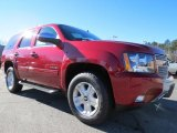 2013 Crystal Red Tintcoat Chevrolet Tahoe LT #75074086