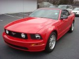 2007 Torch Red Ford Mustang GT Premium Convertible #75074424
