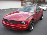 2005 Redfire Metallic Ford Mustang V6 Deluxe Coupe #75074420
