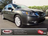 2013 Hematite Metallic Honda Accord EX-L Sedan #75073717