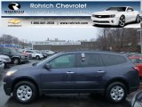 2013 Atlantis Blue Metallic Chevrolet Traverse LS #75074410