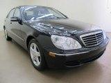 2004 Black Mercedes-Benz S 500 Sedan #75073713