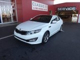2013 Snow White Pearl Kia Optima SX Limited #75074163